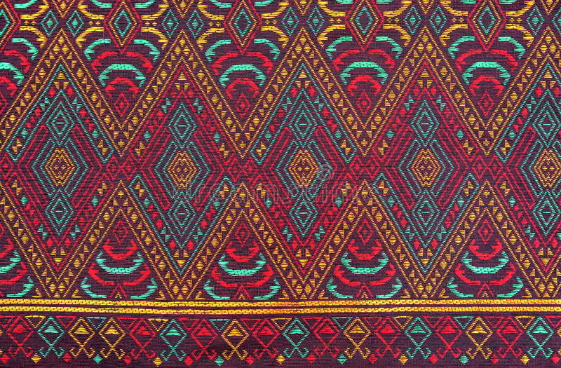 Colorful batik cloth fabric background. Colorful batik cloth pattern fabric background royalty free stock photo