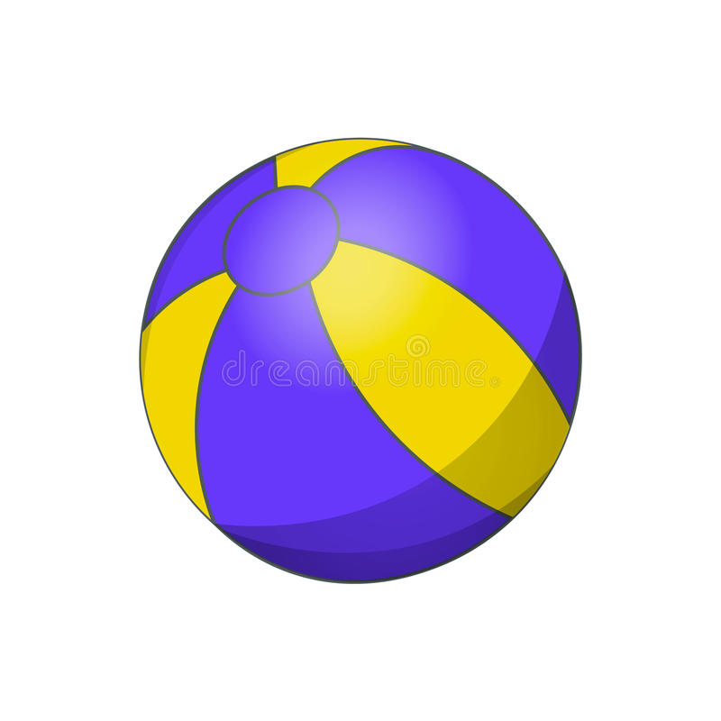 colorful beach ball vector illustration white yellow and blue rh dreamstime com beach ball vector image free beach ball vector icon