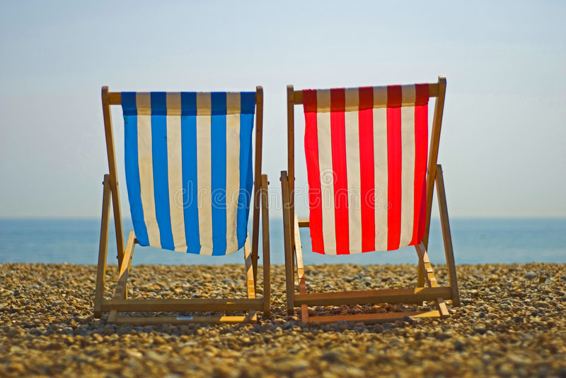 Download Colorful Beach Chairs Royalty Free Stock Images - Image: 5590669