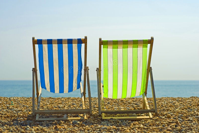 Download Colorful beach chairs stock image. Image of outdoors, beaches - 5591423