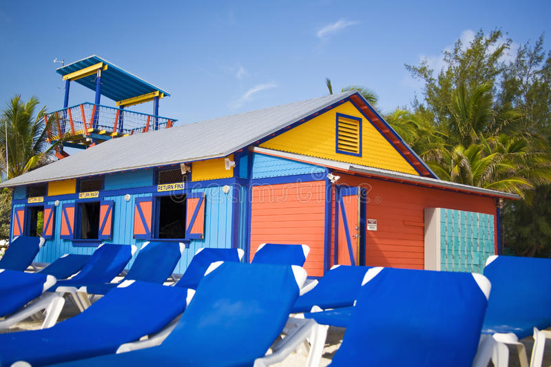 Download Colorful beach hut stock image. Image of paint, bright - 10532115