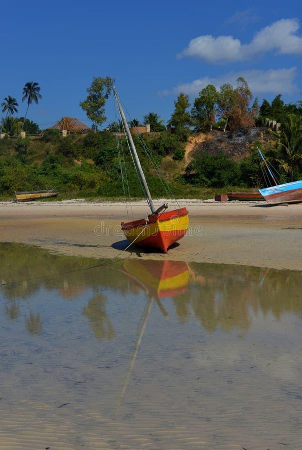 Download Beached Fishing Boat, Vilanculos Stock Image - Image: 29964073