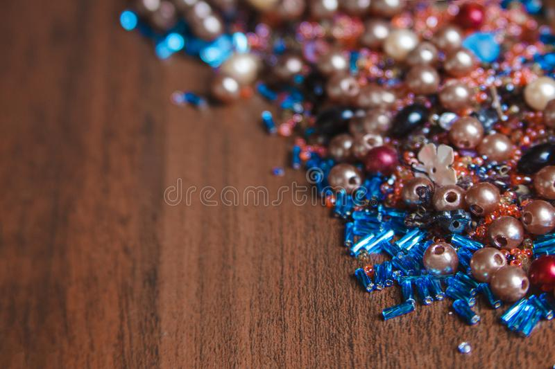 Colorful bead royalty free stock images