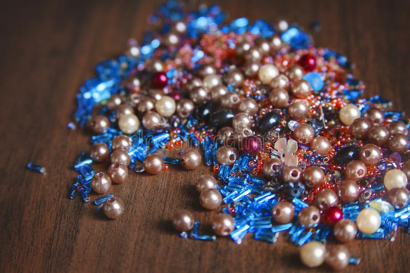 Colorful bead royalty free stock photo