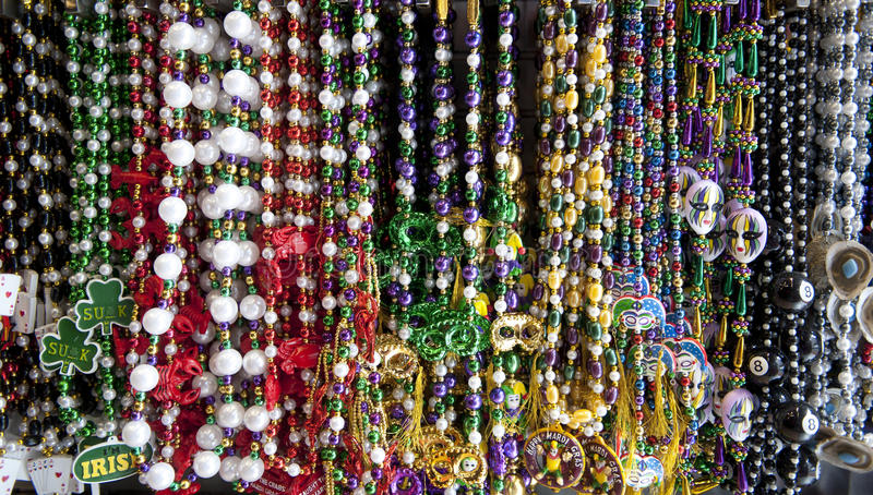 Download Colorful Bead Necklaces Royalty Free Stock Photos - Image: 28432238