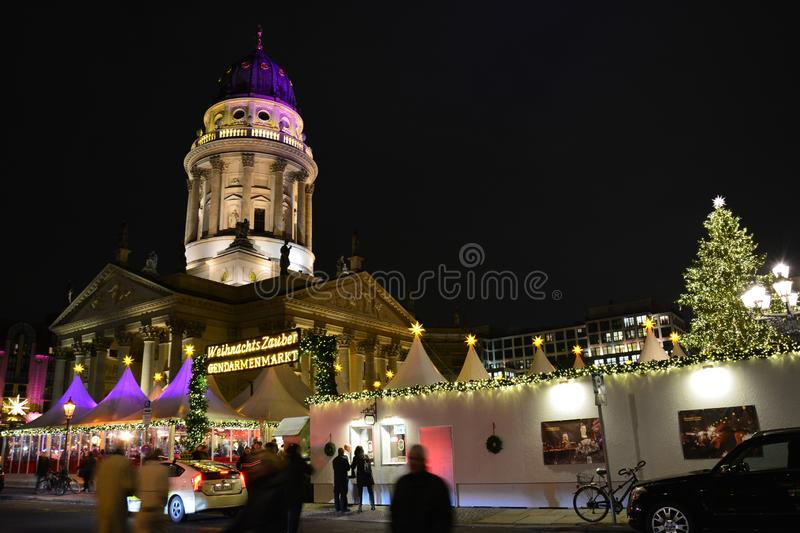 Christmas Market in Berlin Germany royalty free stock photo
