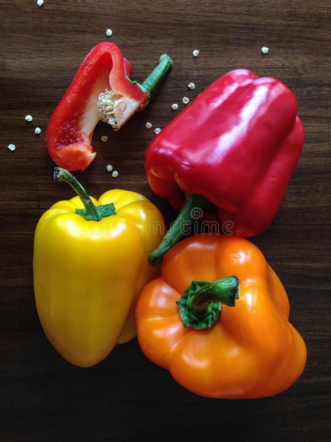Colorful Bell Peppers Free Public Domain Cc0 Image