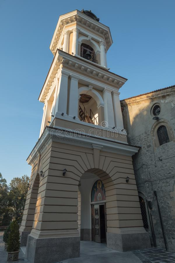 Assumption of the Holy Virgin Church, Plovdiv Old Town, Bulgaria stock photo
