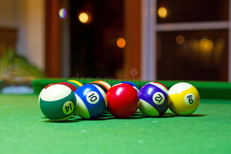 Download Colorful billiard balls stock image. Image of background - 28075293