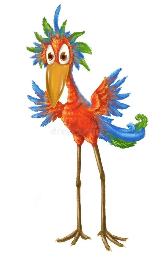 Download Colorful bird stock illustration. Illustration of blue - 25166062