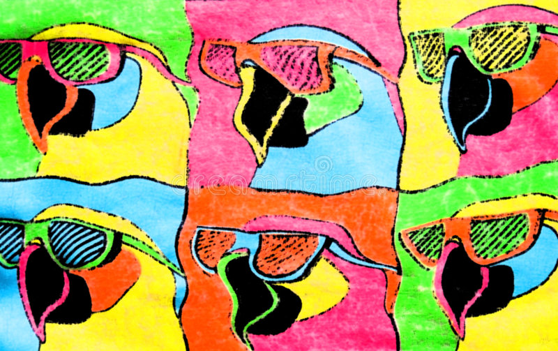 Download Colorful Birds Background stock illustration. Illustration of childish - 5685799