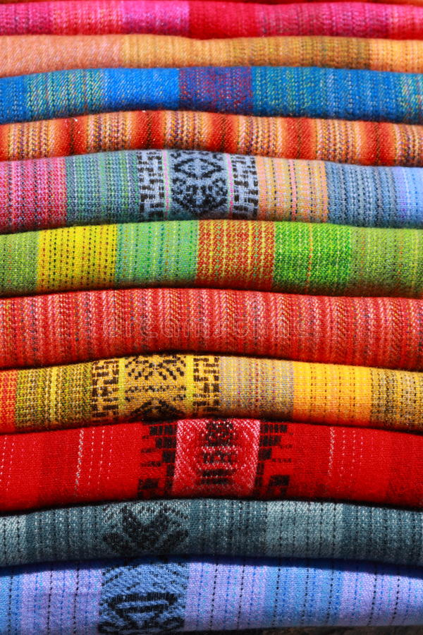 Download Colorful blanket stock image. Image of background, andean - 9983561