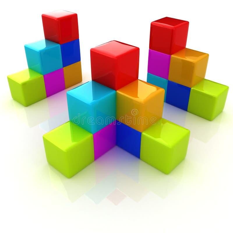 3d Design Using Home Designer Chief Architect Multi Level: Child Development Business Diagram Stock Illustration