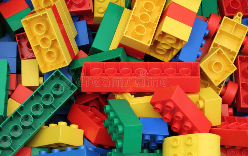 Download Colorful Blocks stock image. Image of child, colourful - 18557051