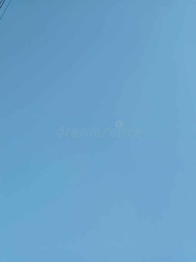 Colorful blue sky for background and texture stock image