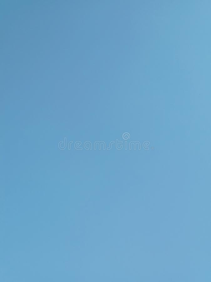Colorful blue sky for background and texture stock photography