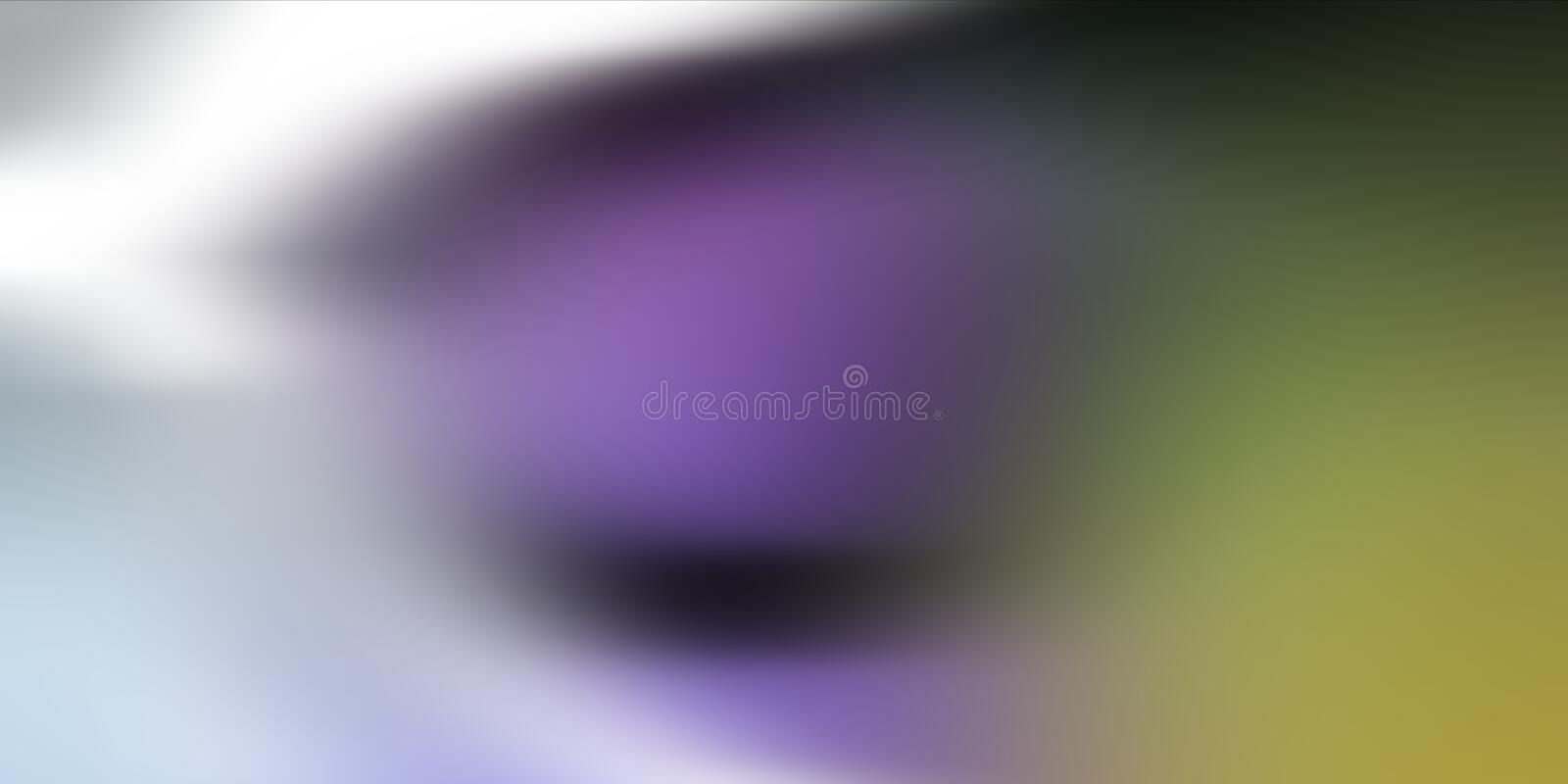 Colorful blur abstract background vector design, colorful blurred shaded background, vivid color vector illustration. royalty free stock photos
