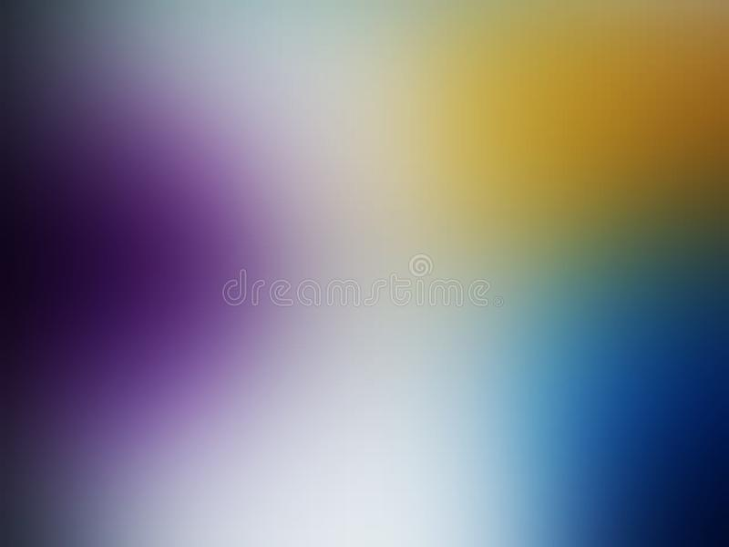 Colorful blur abstract background vector design, colorful blurred shaded background, vivid color vector illustration. stock illustration