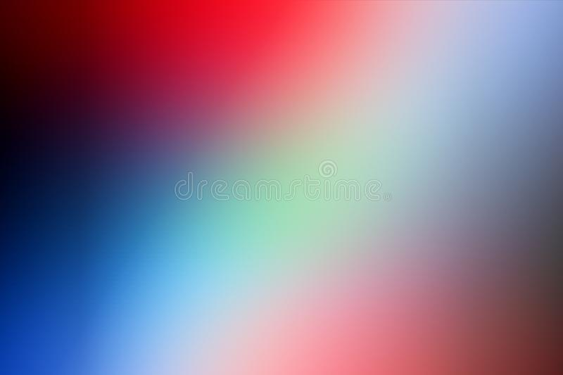 Colorful blur abstract shaded background wallpaper, vector illustration. stock photo