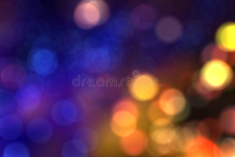 Colorful blur bokeh background royalty free stock photography