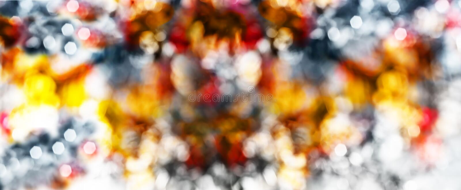 Colorful blur defocused image. Abstract background colorful blur defocused image stock images
