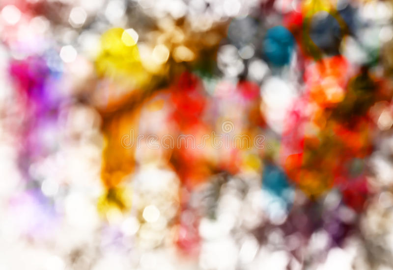 Colorful blur defocused image. Abstract background colorful blur defocused image stock photography