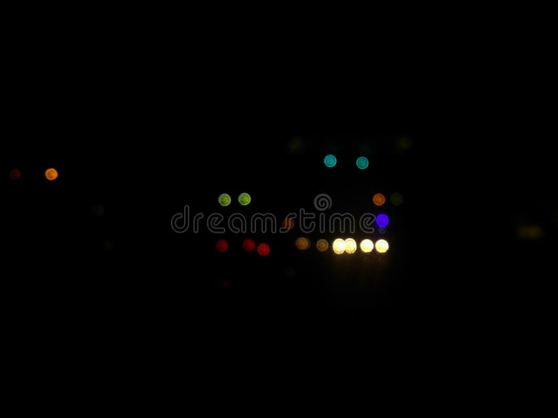 Colorful blurred bokeh background. Abstract background royalty free stock photo