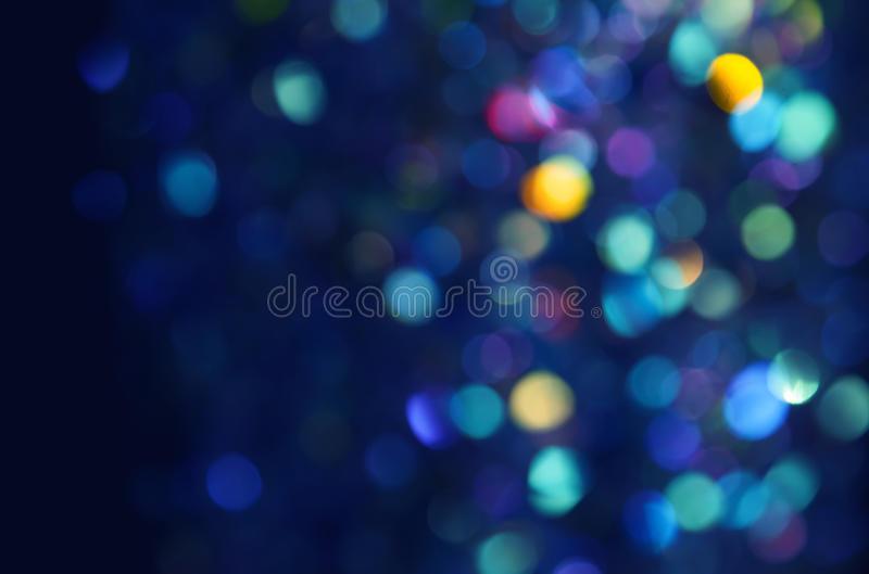 Colorful blurred bokeh background stock image