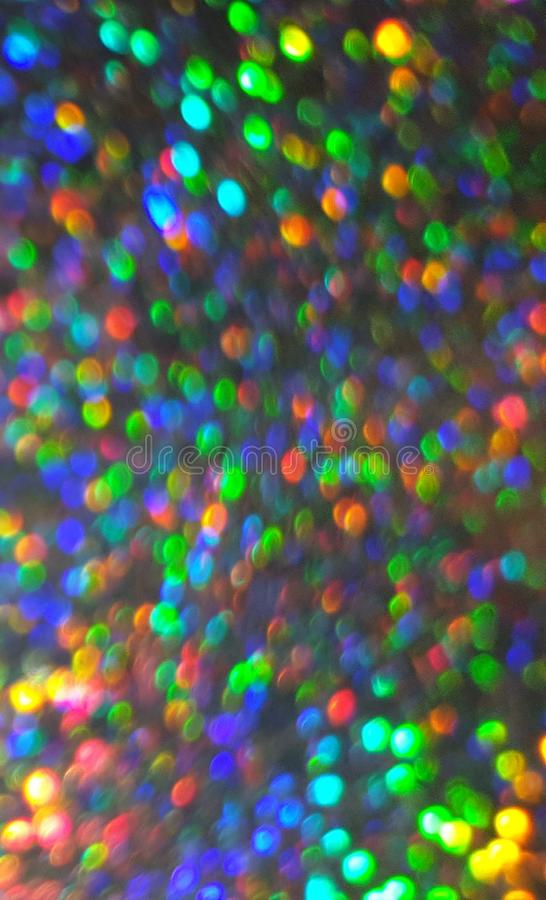 Colorful blurred lights background royalty free stock photography