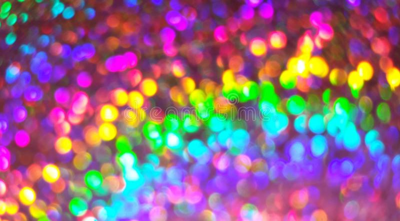 Colorful blurred lights background royalty free stock photos