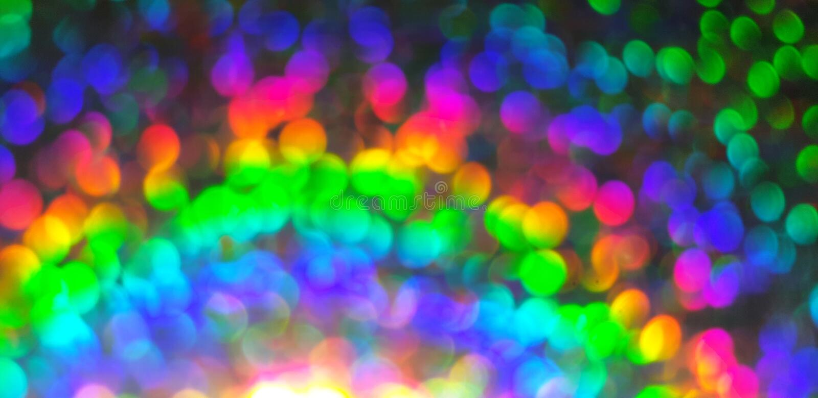 Colorful blurred lights background royalty free stock image