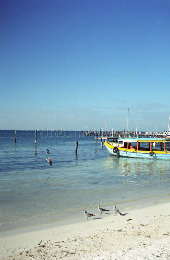 Colorful Boat, Isla Mujeres