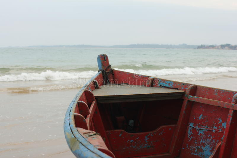 Download Colorful Boats By The Shore Stock Photo - Image: 26383656