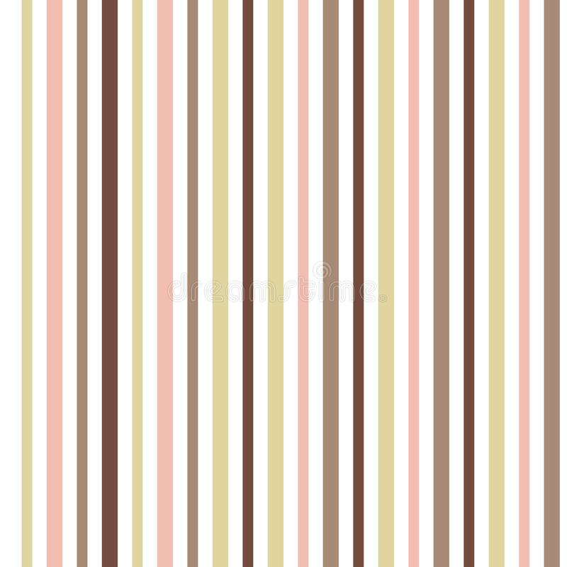 Colorful bohemian stripes background. Pastel tones royalty free illustration