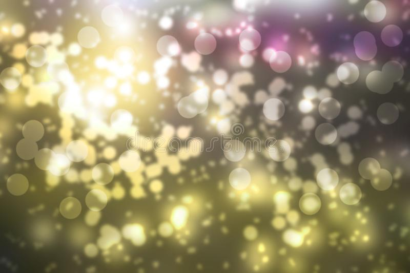 Colorful bokeh abstract background, circle royalty free stock photography