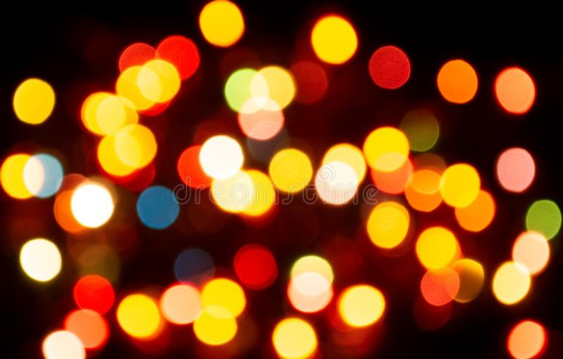 Colorful bokeh background stock photography