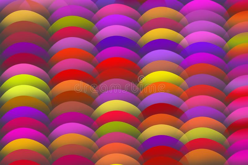 COLORFUL BOLLS IN TRAY stock photography