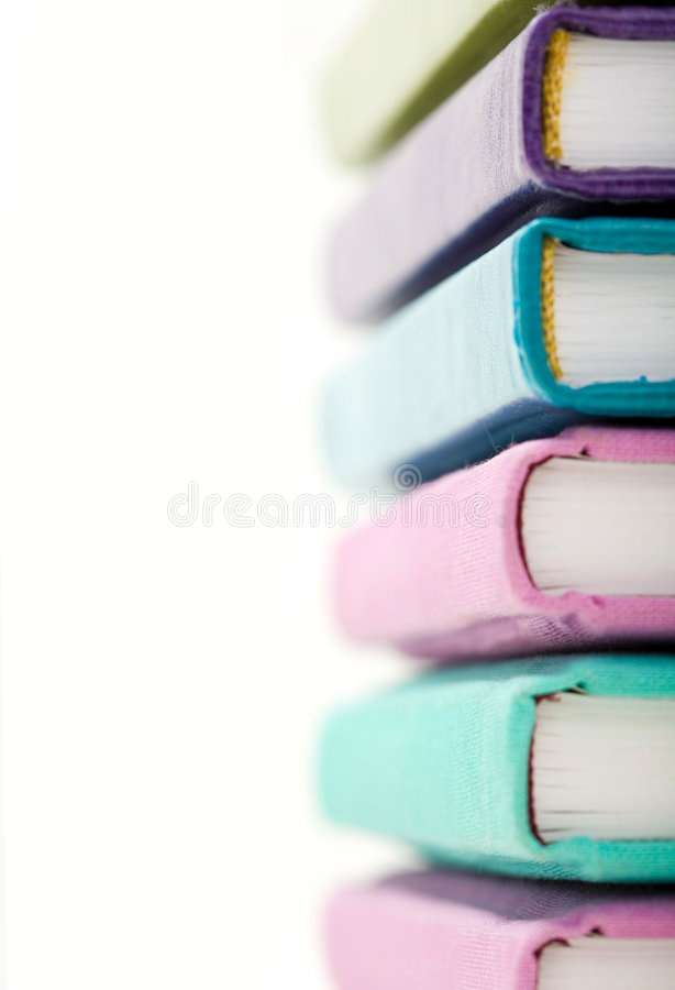 Download Colorful books stock photo. Image of notebook, macro, notepad - 7042486