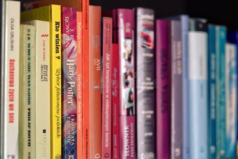 Colorful Books On Shelf Free Public Domain Cc0 Image