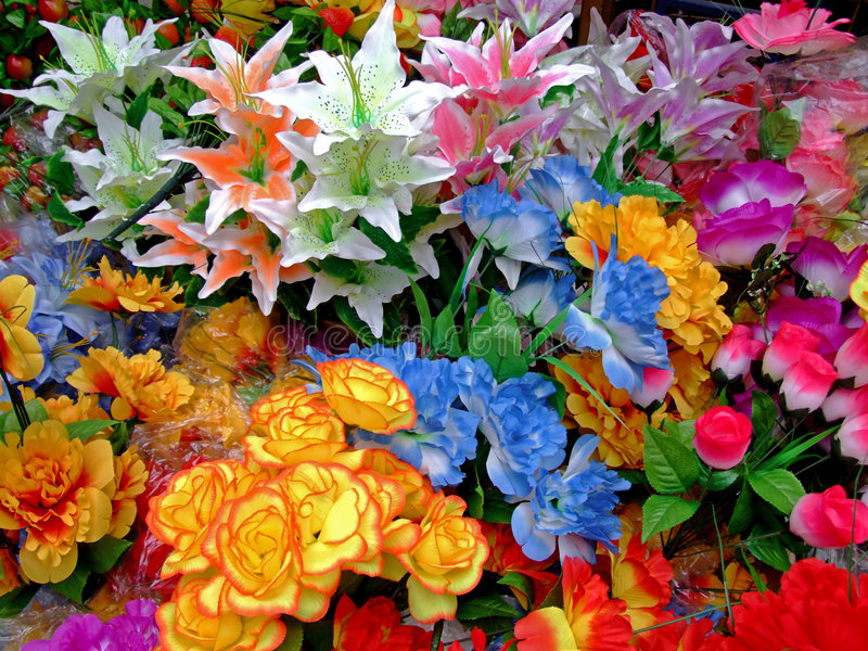 Colorful bouquet stock photos