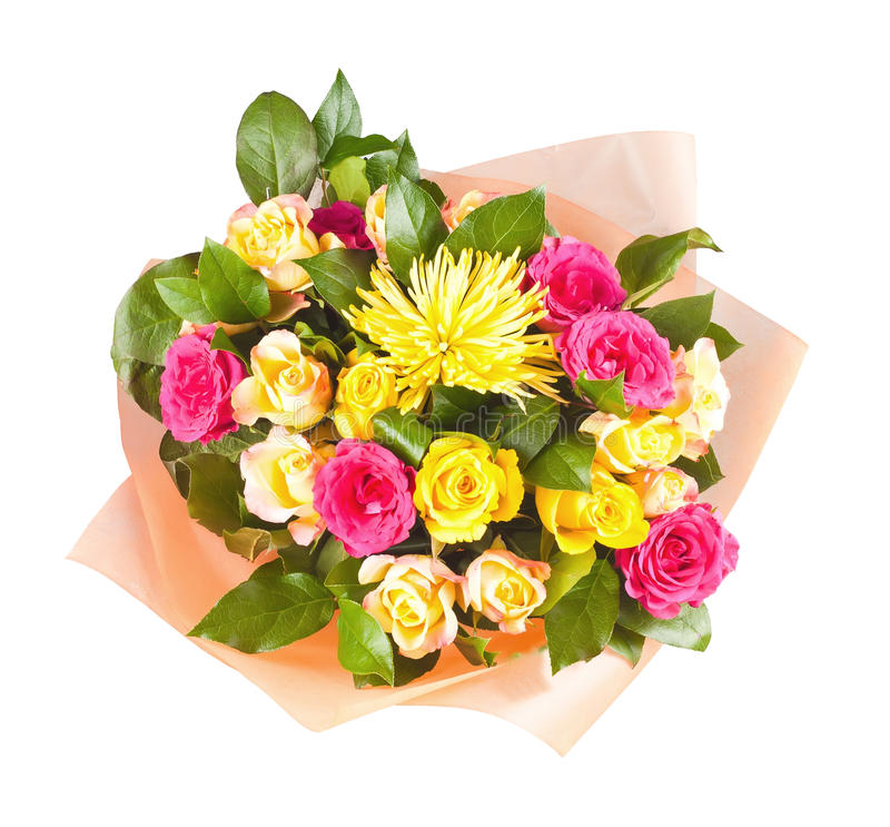 Colorful Bouquet Of Flowers Stock Photos