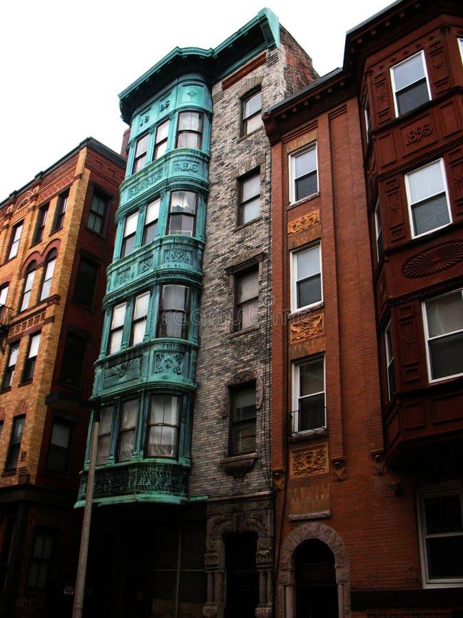 Colorful Brick Row Houses Free Public Domain Cc0 Image