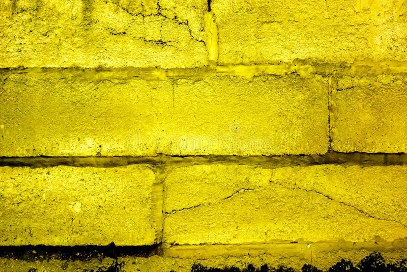 Colorful brick wall pattern, painted bricks as urban texture royalty free stock photos