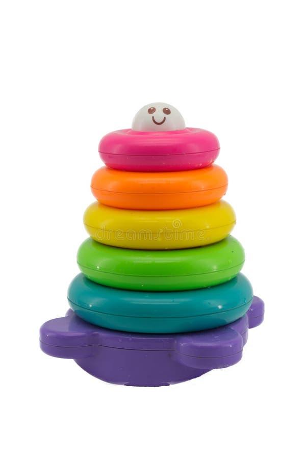 Download Colorful Bridge Of Stacked Circular Royalty Free Stock Photo - Image: 26964675