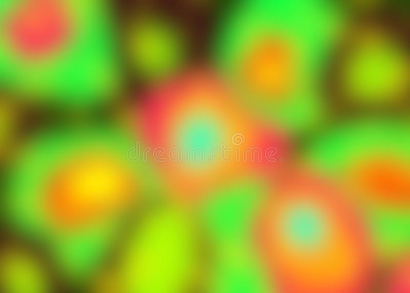 Colorful, bright, abstract background. Sweet multi-colored background royalty free illustration