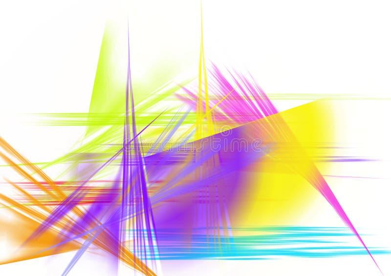 Colorful Brush Strokes Stock Photos