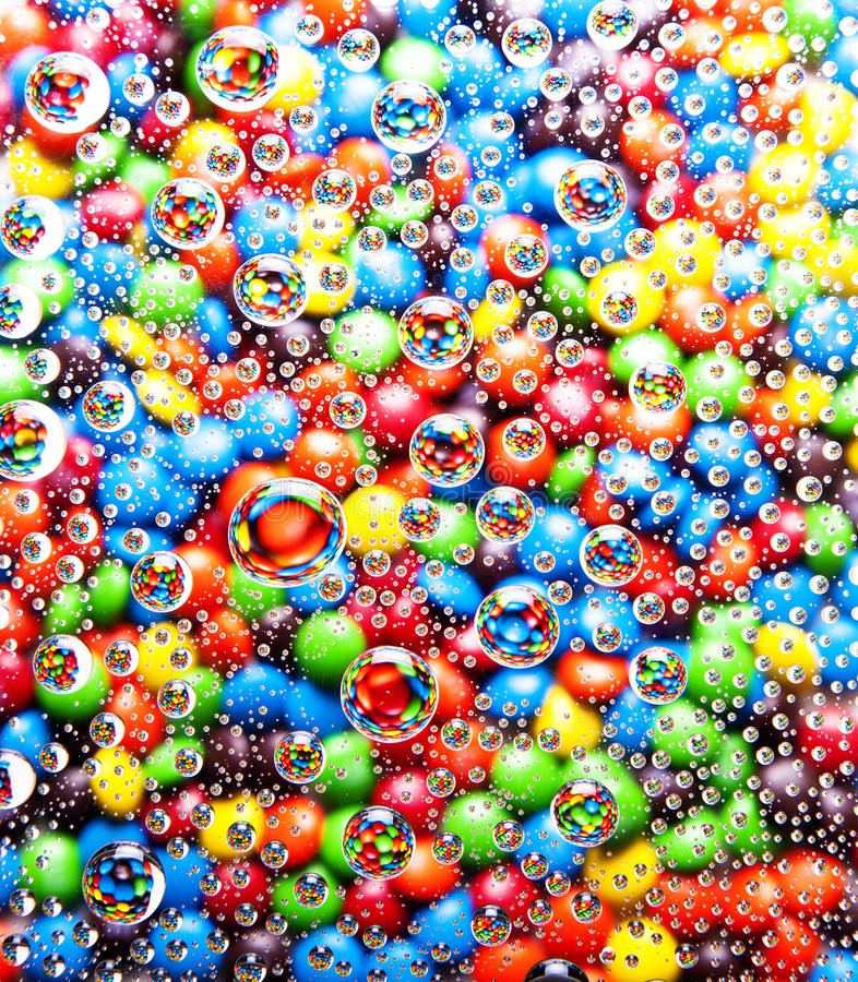 Colorful bubbles background royalty free stock photo