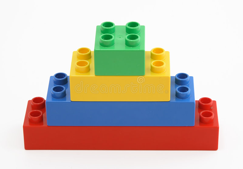 Download Colorful  building blocks stock photo. Image of play, isolated - 2071878