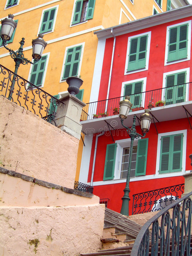 Download Colorful Buildings Bastia Corsica France Stock Photo - Image of residence, corsica: 14577728