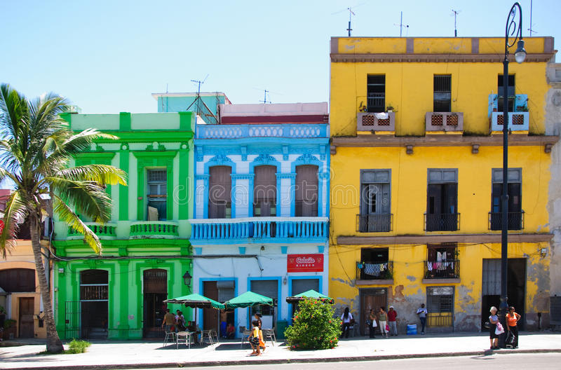 Download Colorful Buildings In Havana Editorial Stock Image - Image: 28366049